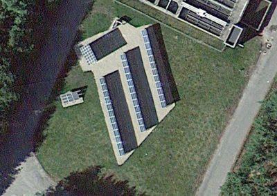 Centrale photovoltaïque à Shelton