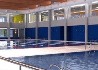 Piscine couverte et centre sportif de Moncada