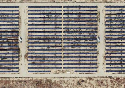 Solar plant in the Mojave Desert
