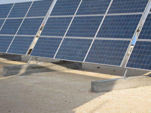 Solar plant in Cyprus