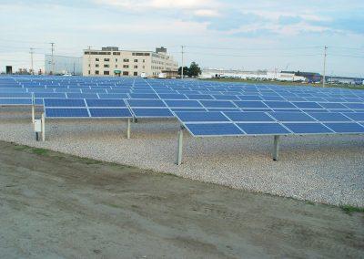 Solar plant for Toray Plastics