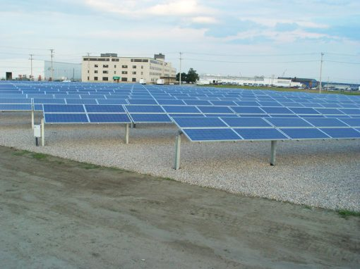 Solar plant for Toray Plastics